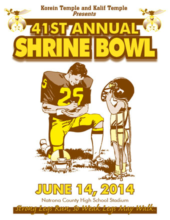 2014 Wyoming shrine Bowl